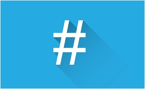 Don't spam hashtags